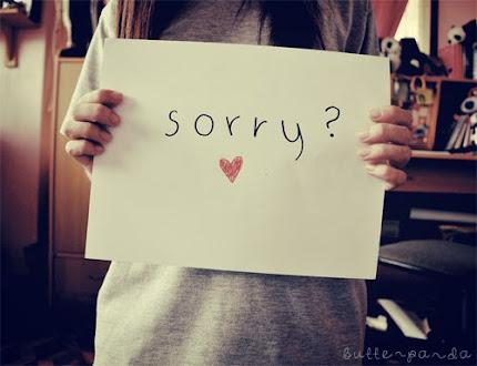 Me perdonas?