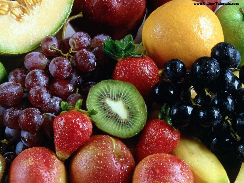 Wallpaper buah