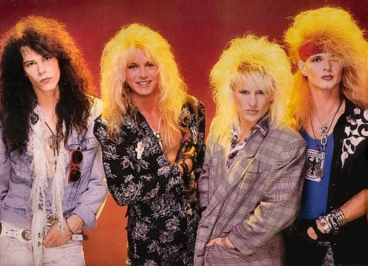 80s+hair+metal+fashion