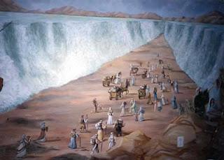 menyebrangi laut merah 9 Saintis US Buktikan Nabi Musa Membelah Laut