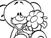 Ursinho e a Flor