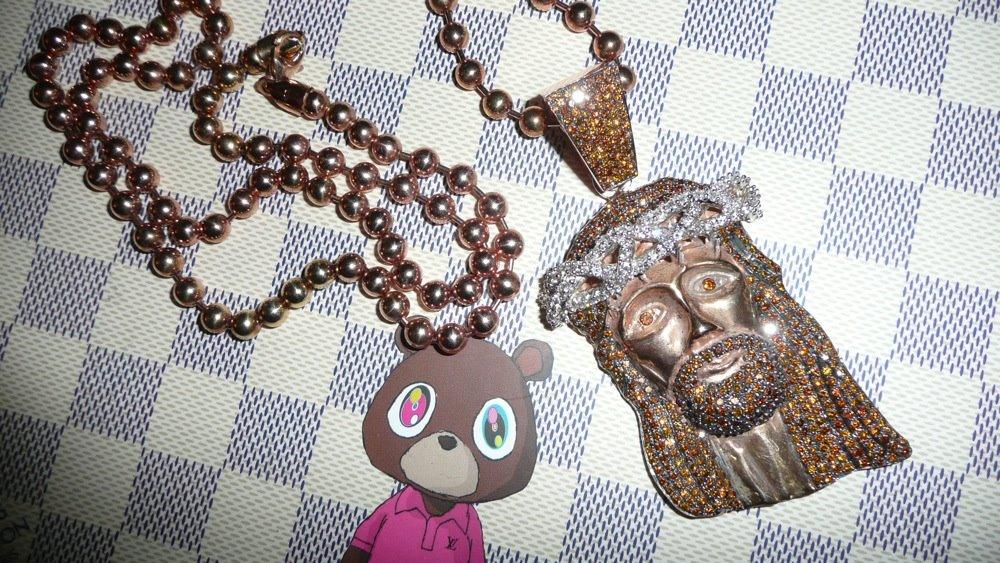 Kanye Murakami Jesus Piece Kanye West Jesus Piece Chain