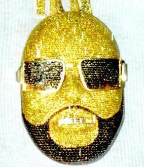 Exit 8 music group presentsyou see that chain rick ross rick ross self portrait pendant aloadofball Gallery