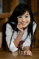 Elly Tran Ha / Elly Kim Hong / Elly Bồ Công Anh in a School Uniform