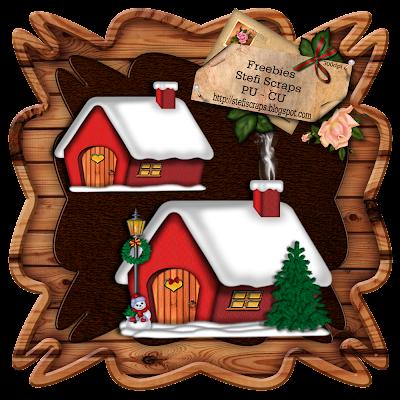 http://stefiscraps.blogspot.com/2009/12/freebie-christmas-house-pu.html