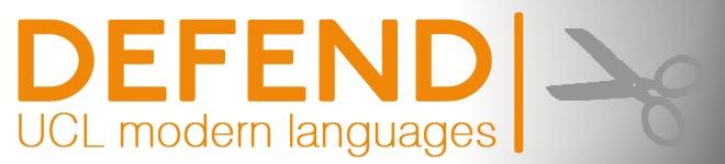 Defend UCL Modern Languages