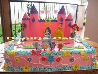 Kue Ulang Tahun Princess Fike