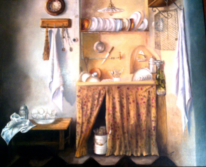 BODEGON.  Cocina antigua