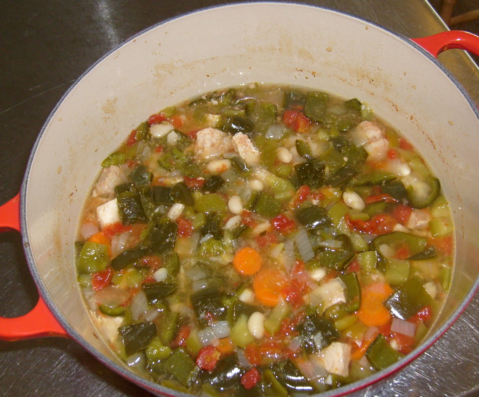 Happier Than A Pig In Mud: Chile Verde! (A Yankee's Version:@)