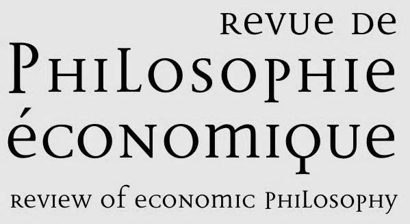 Revue de Philosophie Économique/Revue of Economic Philosophy