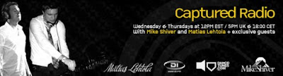 Mike Shiver - Captured Radio 140 (GuestMix Above & Beyond) (30-09-2009)