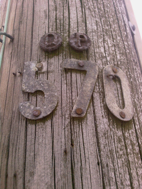TELEGRAPH POLE NUMBER 570