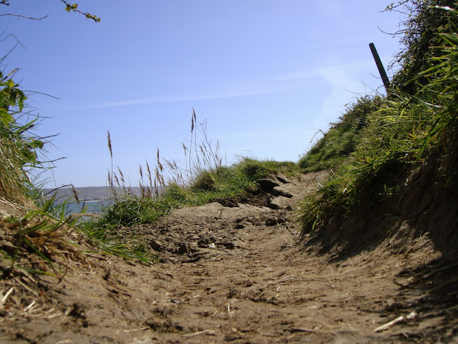 PATH ALONG THE EDGE OF A CLIFF