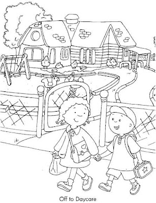 Escuela de Angelitos: Nurie de Caillou (Nurie = Dibujos para ...