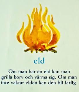 swedish svenska ord en eld