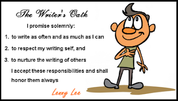 Writer&#39;s Oath