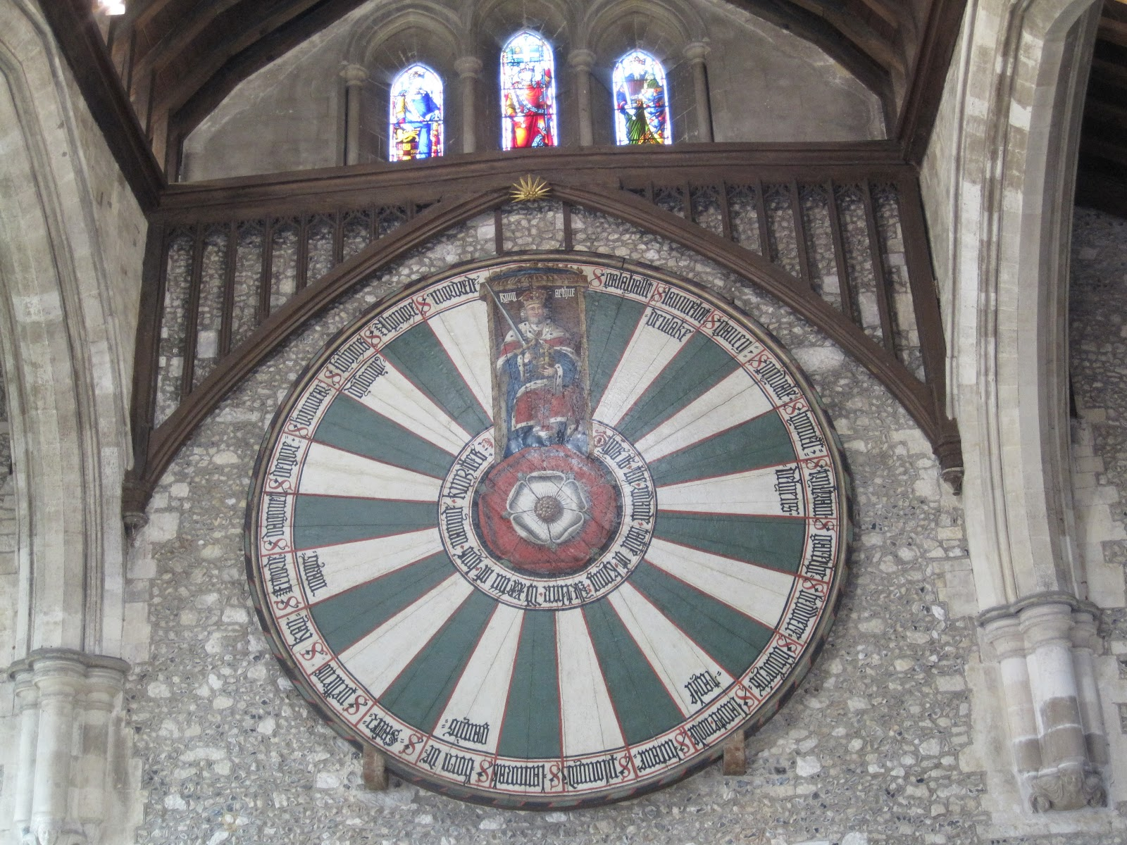 Pax lodge trip next day at foxlease - Round table winchester cathedral ...