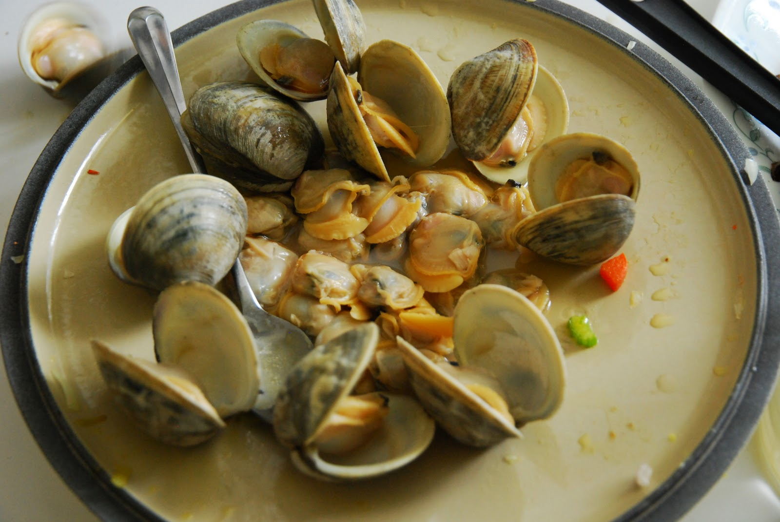 New England Clam Chow-Duh!