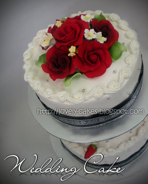 Tiers Wedding Cake - Yatie