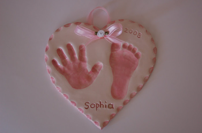 Infant- up to 6m. Medium heart (miami pink) Basic-$35.00,added paint and edging $5.00