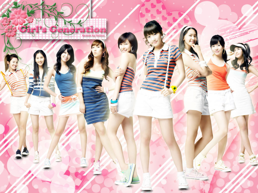 Girls Generation – SINGERS