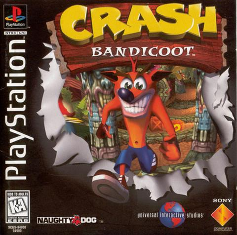 What was your first videogame? Crash-Bandicoot-1