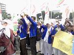 Aksi penolakan pengahapusan RUU Keperawatan