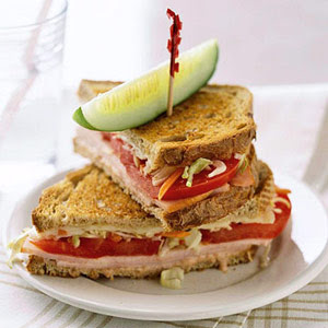 Low Carb Turkey Reuben Sandwich (Weight Watchers PointsPlus=9) | Low ...