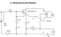 Rangkaian Penidur Elektronik Sederhana