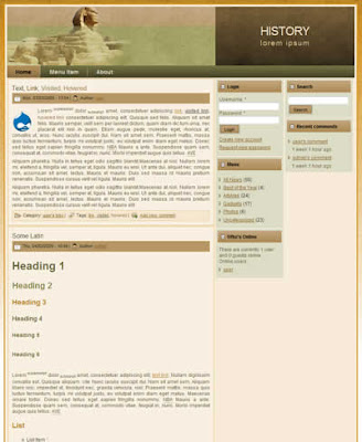 free drupal travel portal theme