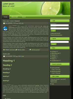 free two column drupal theme