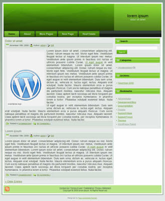 2 column wordpress blogger theme