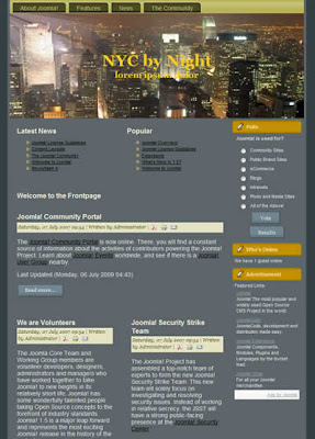 joomla 1.5 template two columns