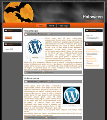 holidays wordpress theme