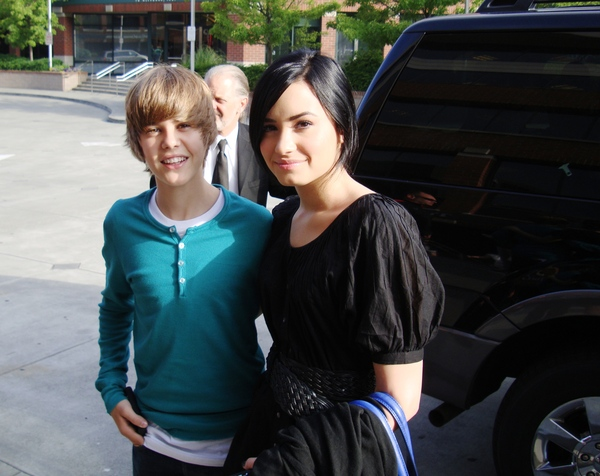 demi lovato 2011 hot. hot Justin Bieber tattoo