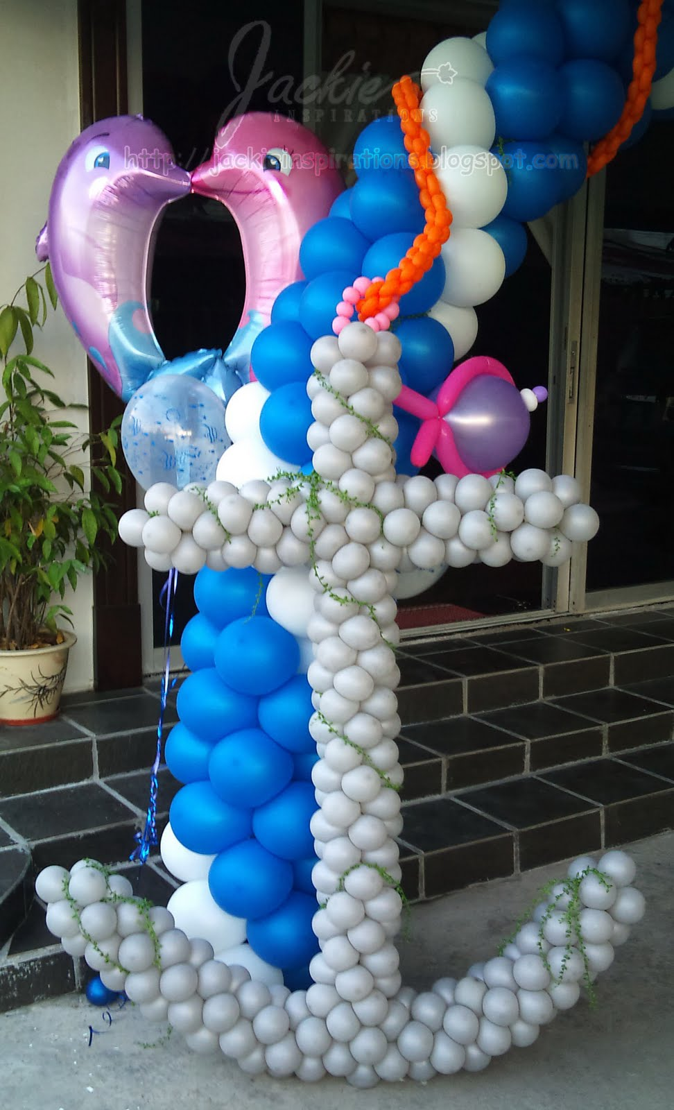 Balloon decorations for weddings birthday parties for Balloon ideas for kids