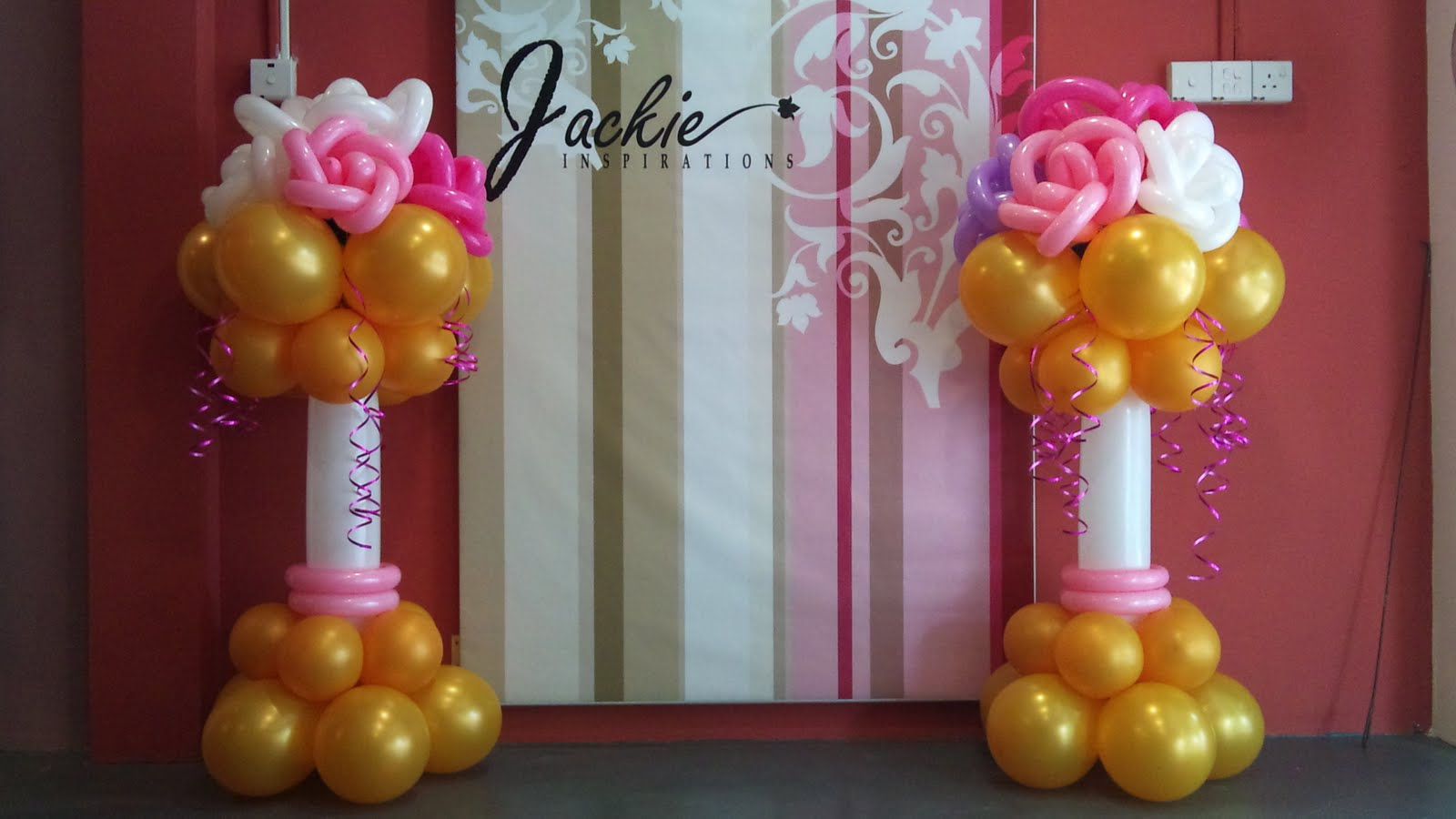 Balloon decorations for weddings birthday parties for Balloon decoration centerpieces