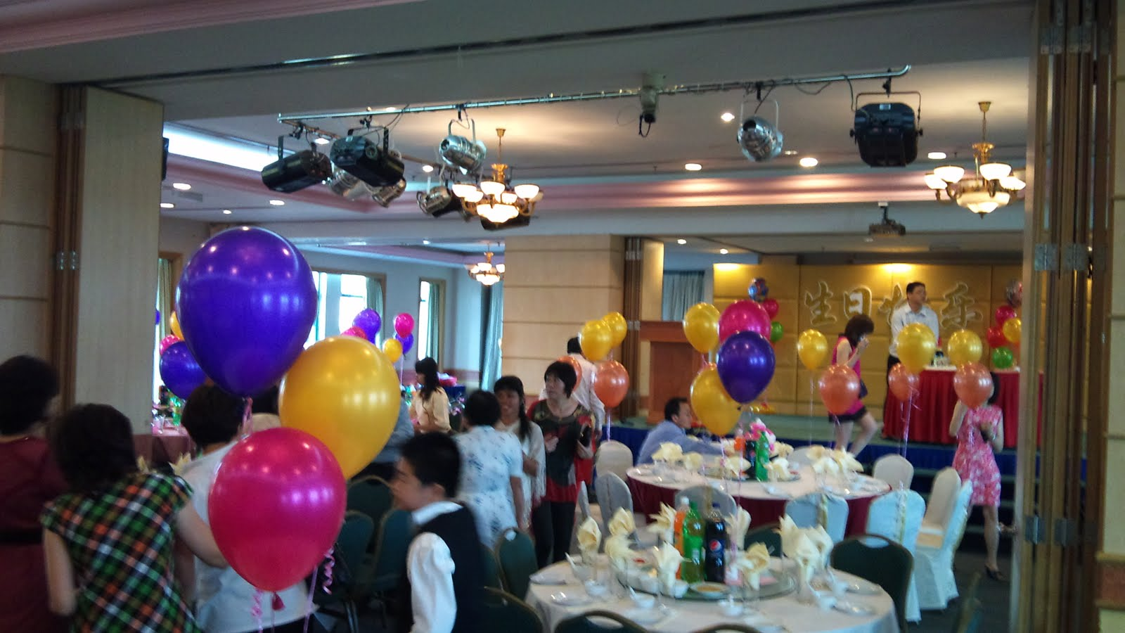 Balloon decorations for weddings birthday parties for 80th decoration