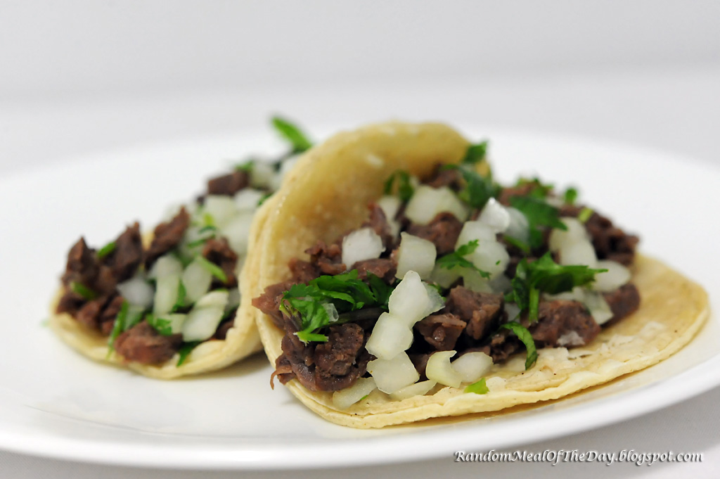 Taqueria Style Tacos - Carne Asada Recipe — Dishmaps