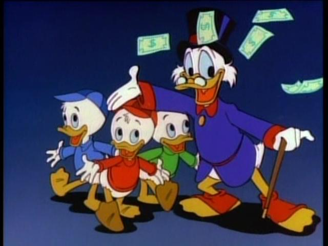 W Ducktales Many Moments Of Me: Du...