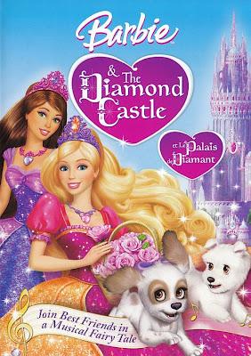 Filme Poster Barbie e o Castelo de Diamante DVDRip Dublado