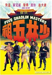 Baixar Filme 5 Mestres de Shaolin (Dublado)
