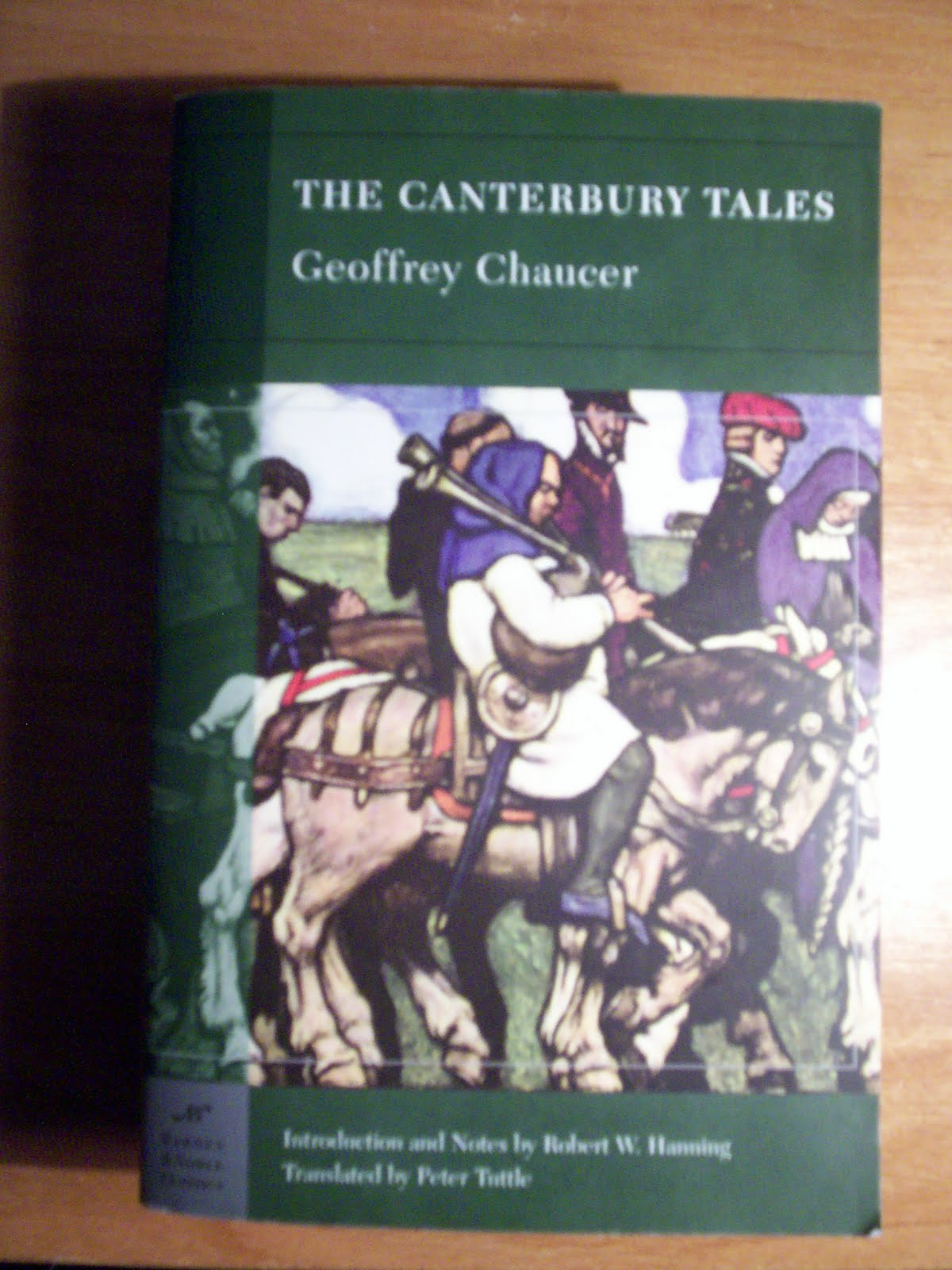 an examination of the story of chaunticleer in the canterbury tales by geoffrey chaucer Story of the play geoffrey chaucer introduces us to a group of pilgrims the nun tells the story of chanticleer the rooster the canterbury tales - 7.