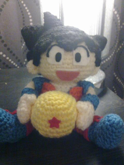 Ks toy adventure.: Dragon Ball Amigurumi - Son Goku