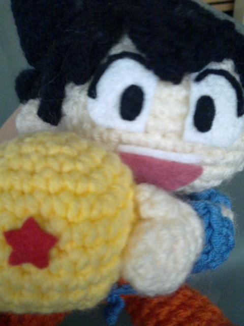 Make Japanese Amigurumi Ball : Ks toy adventure.: Dragon Ball Amigurumi - Son Goku