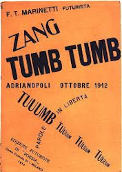 The Futurist's battle cry 'Zang Tumb Tuumb!'