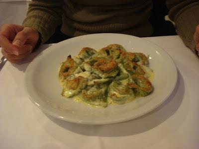 Tortellini Alla Panna - pra comer de joelhos!