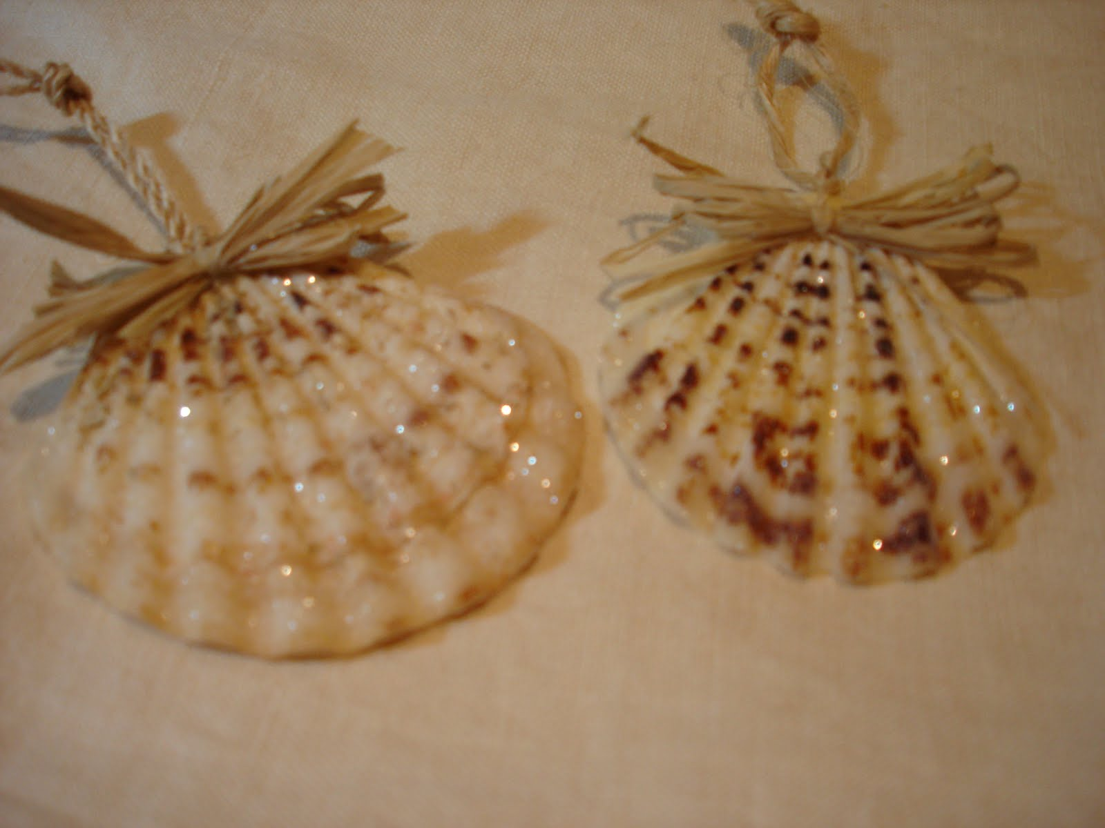 Partymice christmas shell ornaments