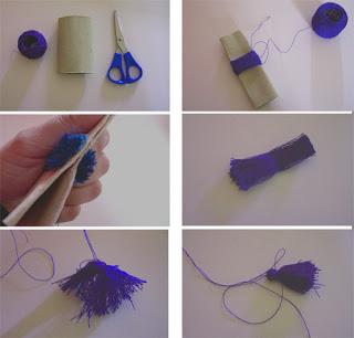 una manualidad para hacer un colgante para decorar el telefono movil