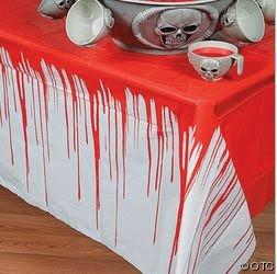mantel sangriento de Halloween